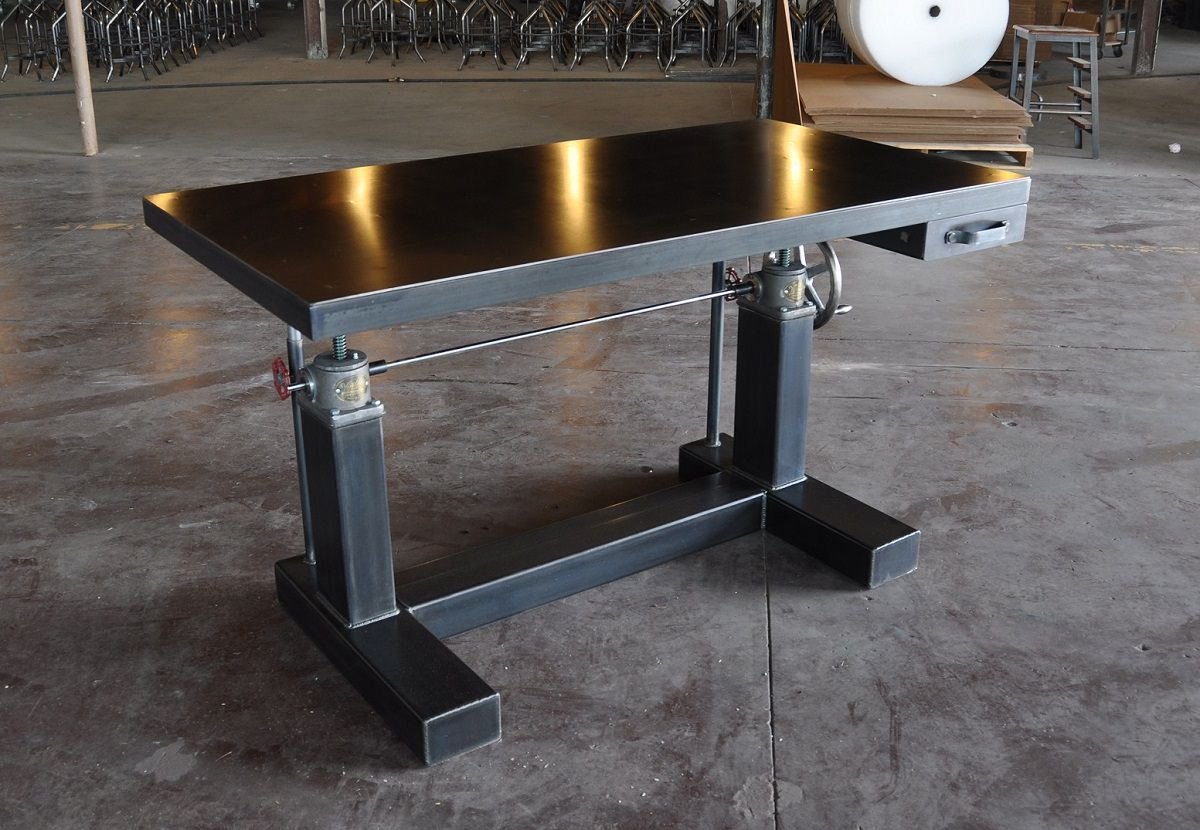 Crank Table Gallery Vintage Industrial Furniture