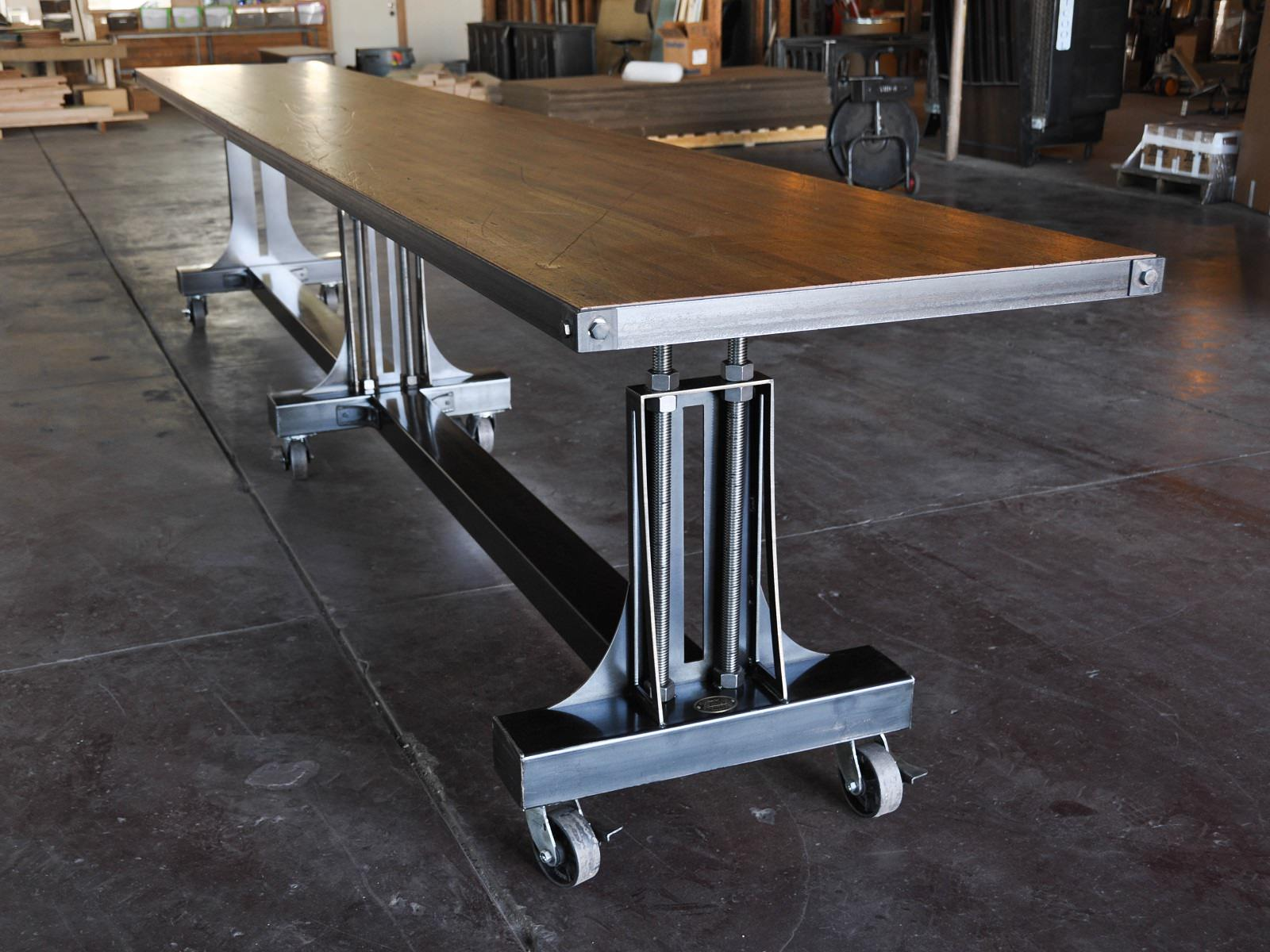 Post Industrial Table Vintage Industrial Furniture