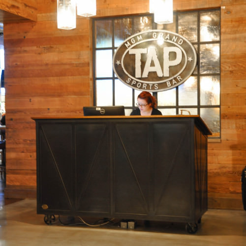 MGM TAP Hostess Stand 2